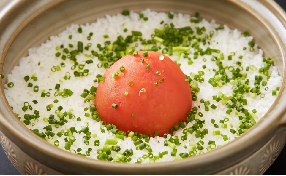 濱田屋の焼肉会席「賑わい」のご飯もの1