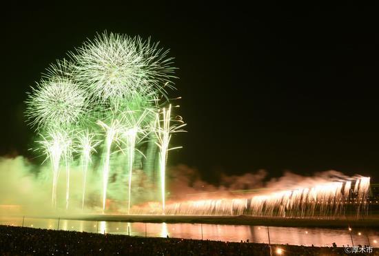 あつぎ鮎祭り花火大会